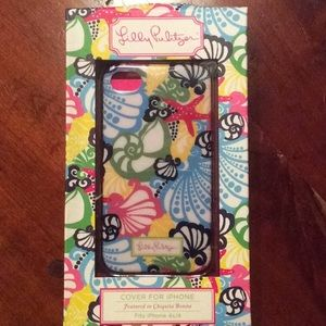 Lilly Pulitzer I Phone case fits 4s/4